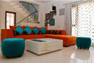 Interior Design for 2 BHK Flat Gurgaon
